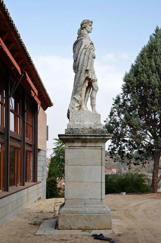 Άγαλμα του Σισεβούτου στο Τολέδο