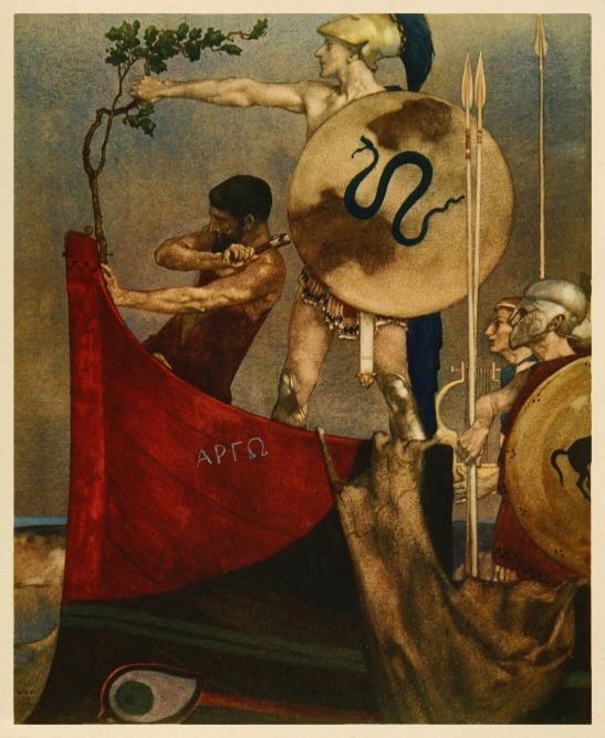 Οι Αργοναύτες_πίνακας του William Russell Flint 1880-1969