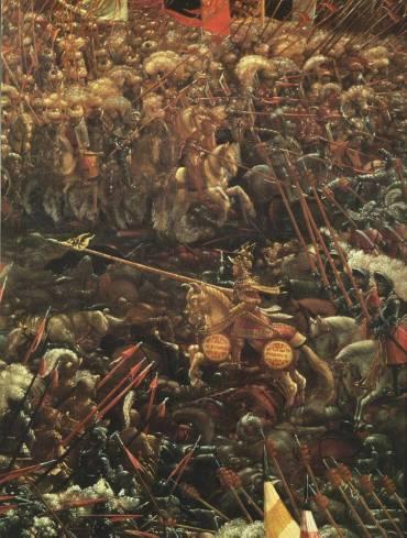 Η μάχη της Ισσού- πίνακας του Altdorfer 1529 πνακοθήκη Μονάχου