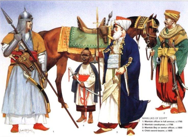 Αιγύπτιοι Μαμελούκοι στρατιώτες