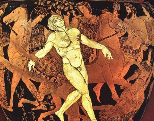 Ο Τάλως και οι Αργοναύτες_αθηναϊκός κρατήρας 4ος αι. π.Χ_ μουσείο Jatta