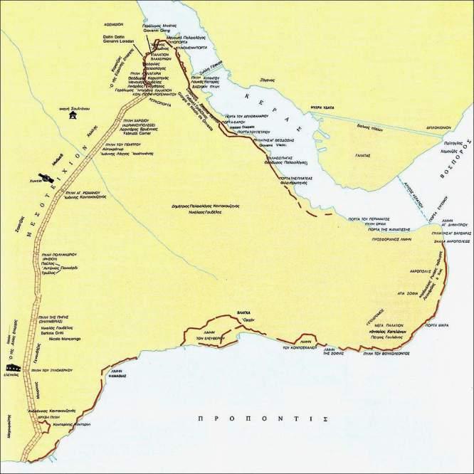 χάρτης πολιορκίας