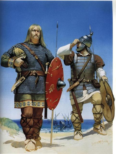 Βάνδαλος και Αλανός πολεμιστής