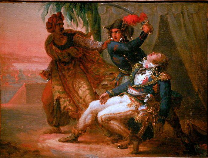 Δολοφονία του Kleber_ελαιογραφία_ μουσείο Στρασβούργου_πηγή wikimedia
