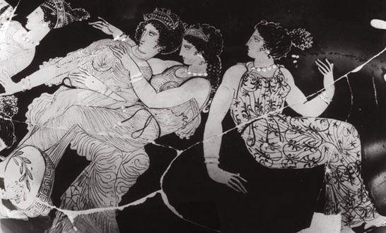 Ευδαιμονία Αρμονία και Παιδία_αττική υδρία_400-450 πΧ_μουσείο φλωρεντίας