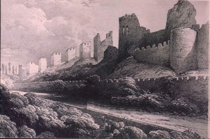 Ηπειρωτικά τείχη Βασιλεύουσας