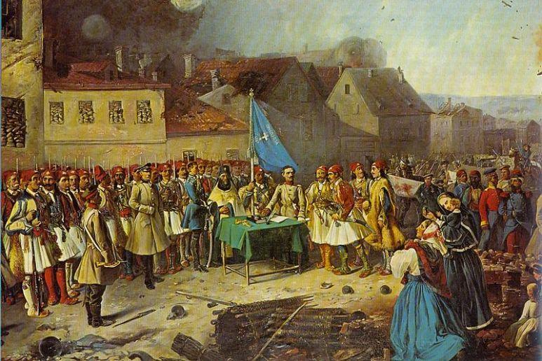 Ο Σχης Πάνος Κορωναίος και η Ελληνική λεγεώνα στον πόλεμο της Κριμαίας_πηγή wikipedia
