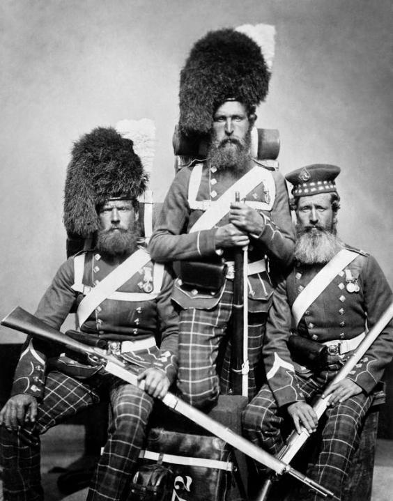 Σκωτσέζοι στρατιώτες Highlanders στον πόλεμο της Κριμαίας_πηγή_ivm.org.uk