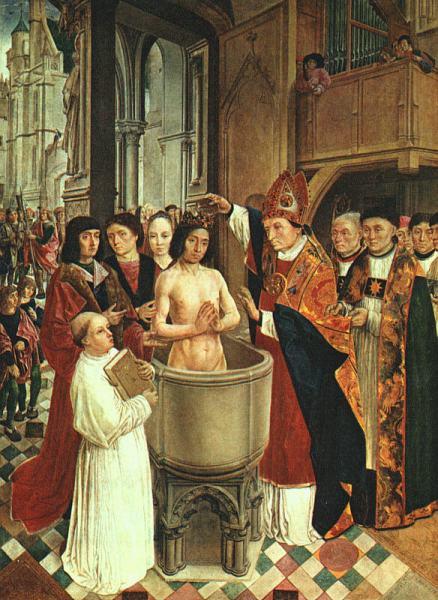 Η βάπτιση του Χλωδοβίκου