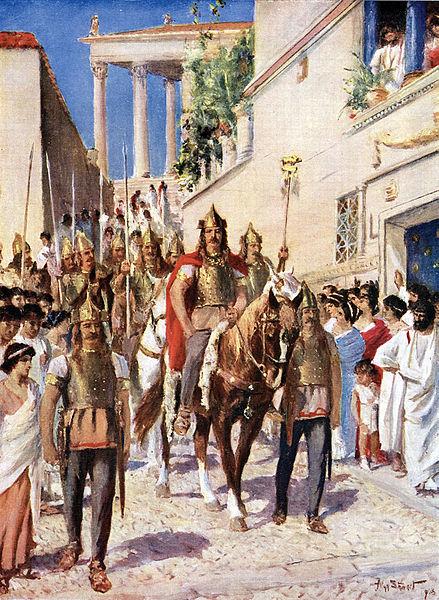Ο Αλάριχος εισέρχεται στην Αθήνα