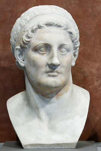 Πτολεμαίος Α' ο Σωτήρ_μαρμάρινη προτομή_μουσείο Λούβρου
