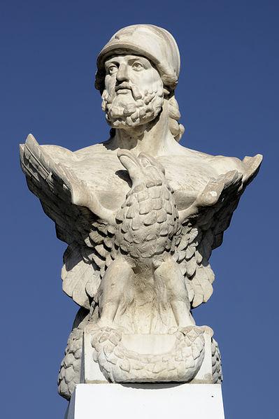 Κίμων ο Μιλτιάδου_προτομή στην Λάρνακα Κύπρου_πηγή wikipedia