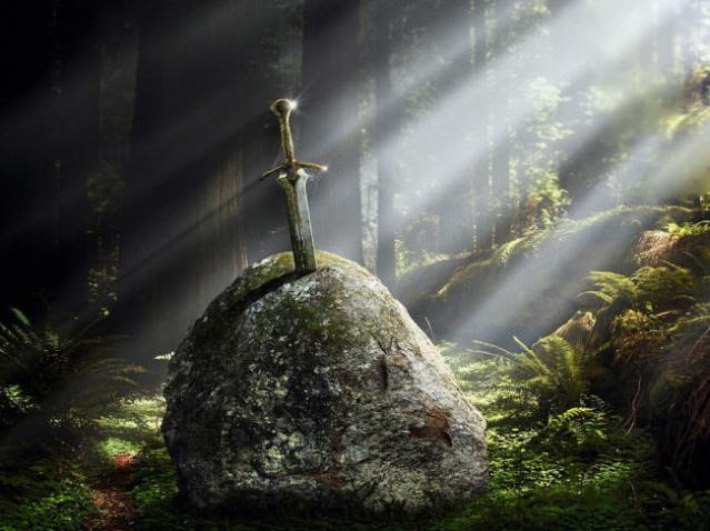 excalibur-in-stone