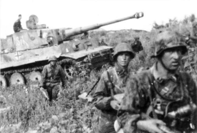 Schlacht um Kursk, Panzer VI (Tiger I)