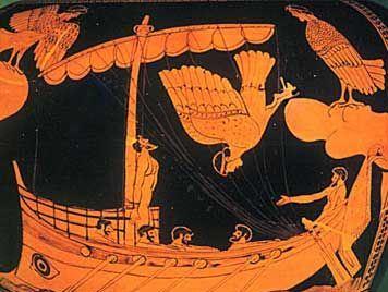 Οδυσσέας και Σειρήνες_Αθηναϊκή ερυθρόμορφος στάμνος_5αι. πΧ_Βρετανικό μουσείο_theoi.com