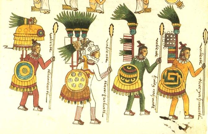 Πολεμιστές με Tepoztopilli