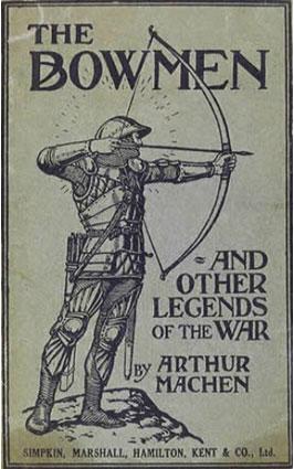 """Εξώφυλλο του βιβλίου """"Οι Τοξότες και άλλοι θρύλοι του πολέμου"""" 1915_πηγή www.militaryhistoryonline.com"""