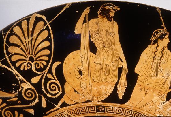 Κέκρωψ_αθηναϊκός ερυθρόμορφος κύλικας_500 πΧ_Βερολίνο