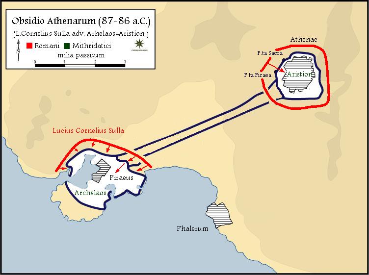 Τελική φάση της πολιορκίας Αθηνών - Πειραιά