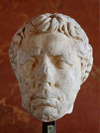 Προτομή του βασιλέα Ιόβα Β' της Μαυριτανίας 25-23 π.Χ. (πηγή)