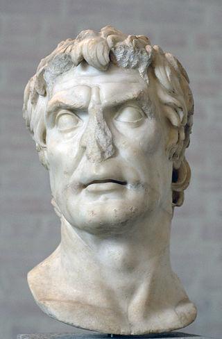 Προτομή, αντίγραφο πορτραίτου Ρωμαίου ευγενούς του 2ου αιώνα π.Χ. Πιστεύεται πως πρόκειται για το Λεύκιο Κορνήλιο Σύλλα (π. 138-78 π.Χ.), δικτάτορα της Ρώμης (πηγή)