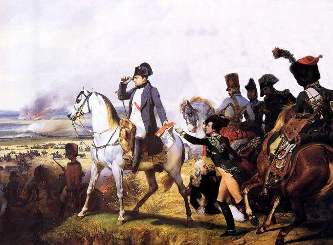 Ο Ναπολέων στο Wagram