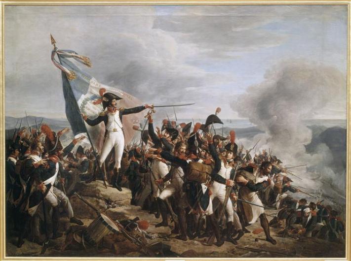 O συνταγματάρχης Rampon στο Montenotte_πίνακας του René Théodore Berthon