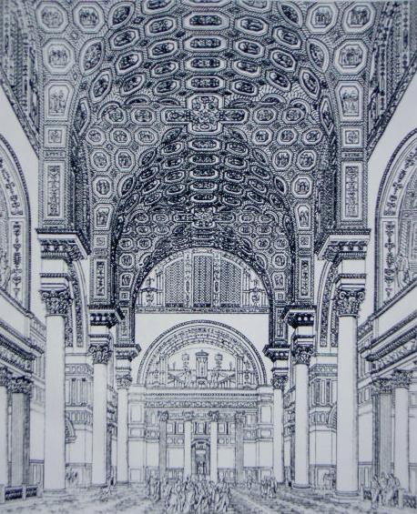 Λουτρά Καρακάλλα_αναπαράσταση 1899