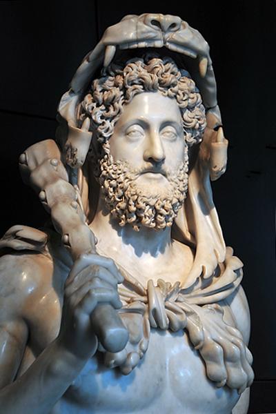Κόμμοδος ως Ηρακλής_μουσείο Καπιτωλίου