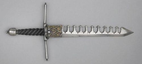 Parrying Dagger με οδοντωτή λεπίδα