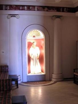 Αναπαράσταση τάφου τη σατράπιδος της καρίας Άδας_μουσείο Αλικαρνασσού (σημερινή ονομασία Μποντρούμ)
