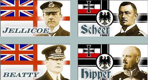 Jutland commanders