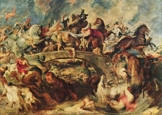 """""""Μάχη των Αμαζόνων""""_Ελαιογραφία_Peter_Paul_Rubens"""