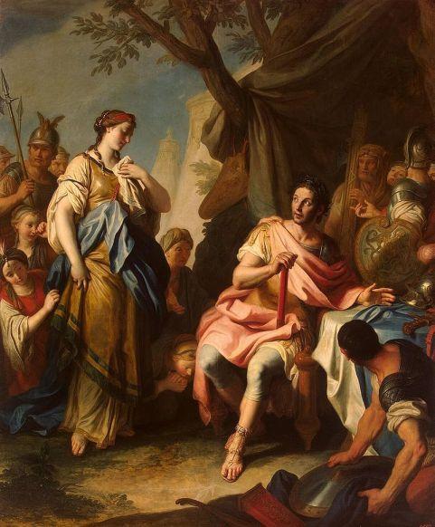 AΑλέξανδρος & Ρωξάνη_πίνακας τεχνοτροπίας Μπαρόκ του Pietro Rotari_1756