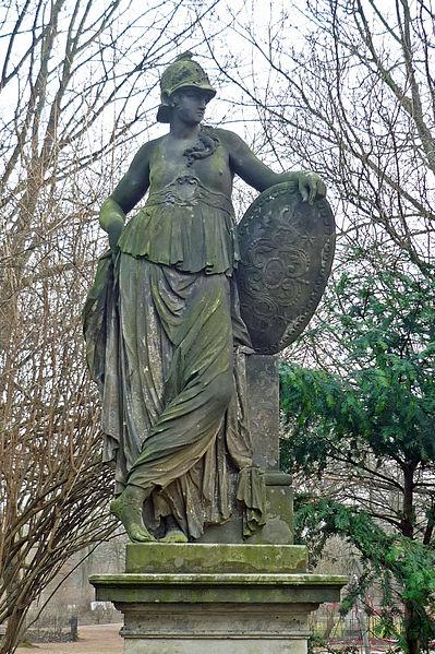 Άγαλμα της Θάληστρις_Δρέσδη