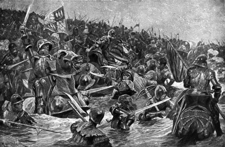 Μάχη Towton_Richard Caton Woodville (1856–1927)