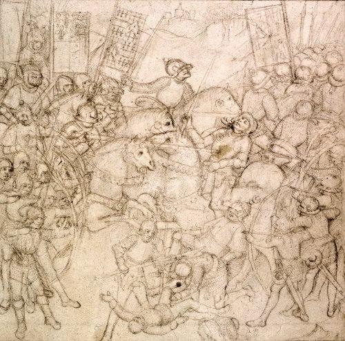 Μάχη του Towton_τοξοβόλοι εν δράσει, _ Beauchamp Pageant