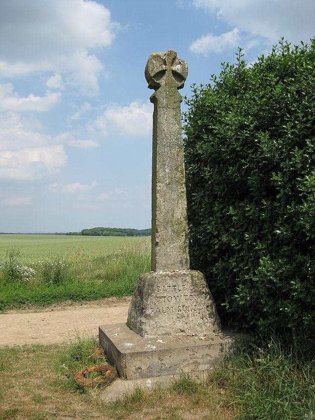 Σταυρός Towton_μνημείο πεσόντων της ομώνυμης μάχης