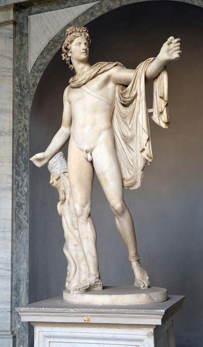 Απόλλων του Μπελβεντέρε_μουσείο Βατικανού