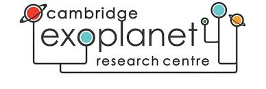 Cambridge Exoplanet Research Centre (webpage)