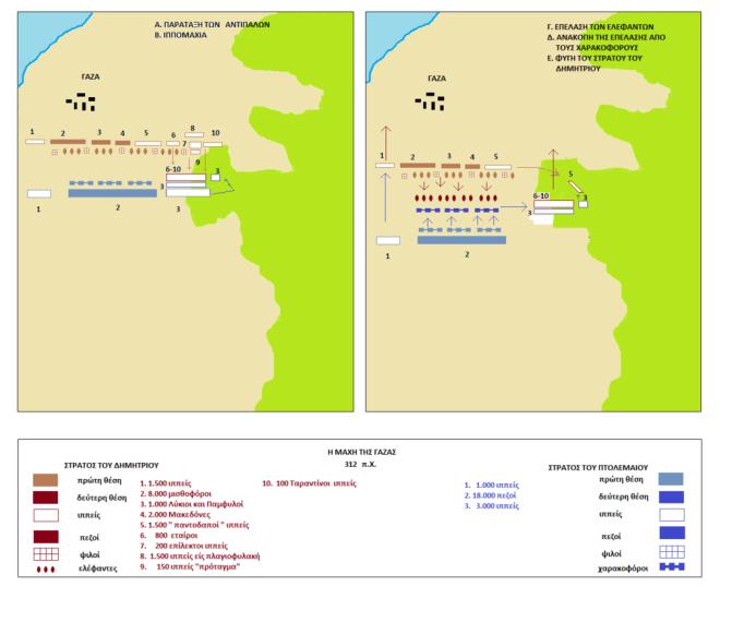 Η μάχη της Γάζας (312 π.Χ.)