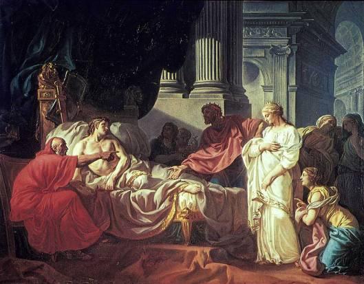 Ο Αντίοχος και η Στρατονίκη_πίνακας του Jacques-Louis David_wikipedia