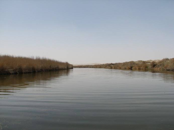 Ποταμός του Ισφαχάν στην Περσία πλησίον του οποίου βρισκόταν η Γαβιηνή.