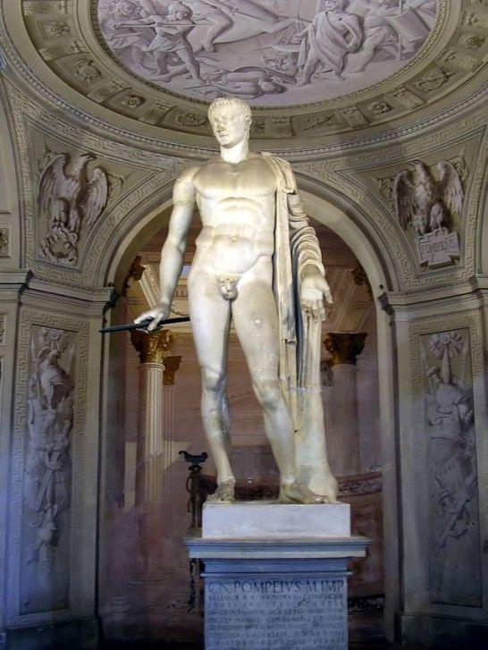 Ρωμαϊκό άγαλμα ου Πομπηίου_ Villa Arconati a Castellazzo di Bollate_Μιλάνο