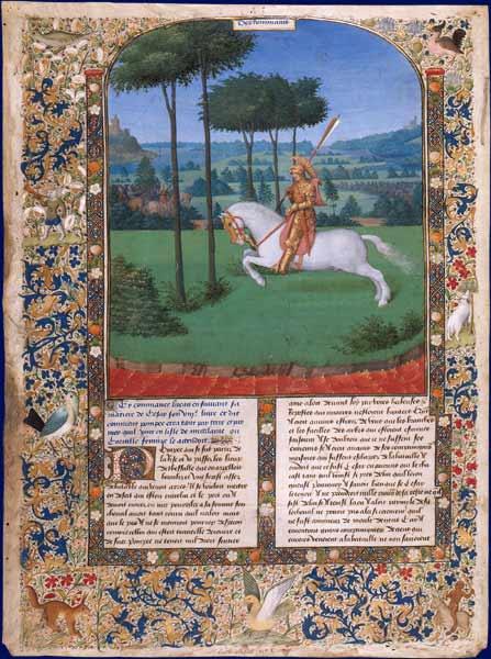 Η φυγή του Πομπηίου μετά την μάχη των Φαρσάλων_ Jean Fouquet