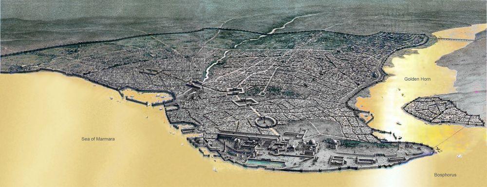 Η Κωνσταντινούπολη την Βυζαντινή εποχή
