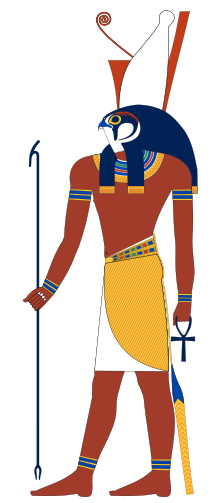 220px-Horus_standing.svg