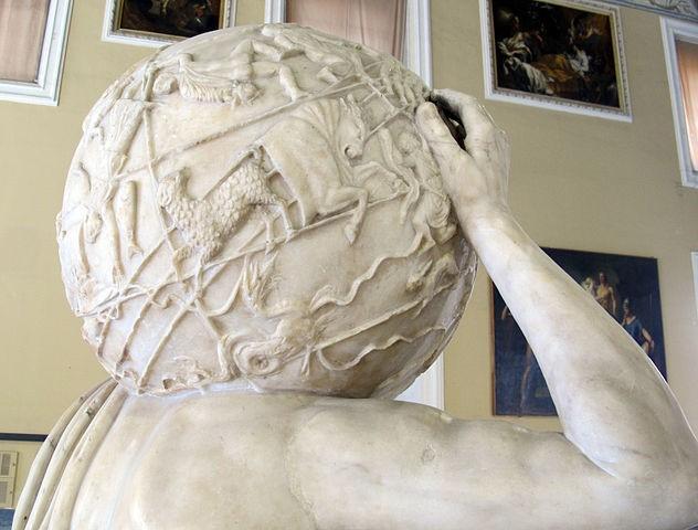 Άτλας των Φαρνέζε Αρχαιολογικό εύρημα από το ανάκτορο των Φαρνέζε