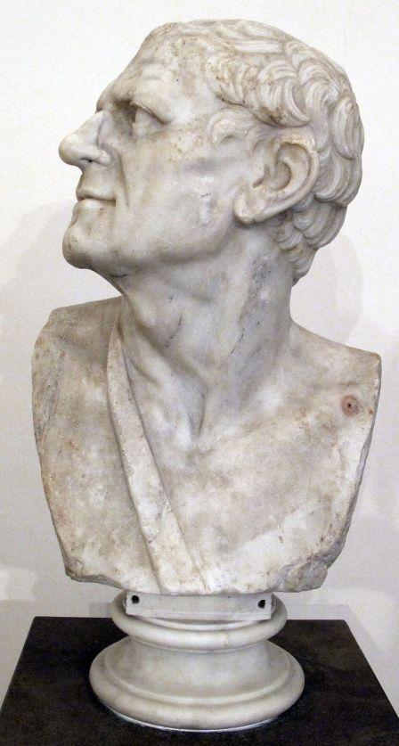 Προτομή Λυσιμάχου_μουσείο Νάπολι