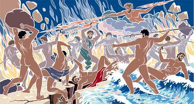 Τιτανομαχία (art-book.gr)